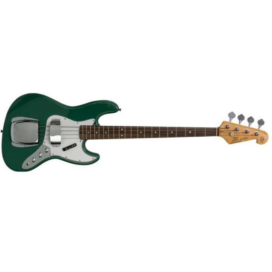 SX Bass Guitar Jazz Bass style - Vintage Green