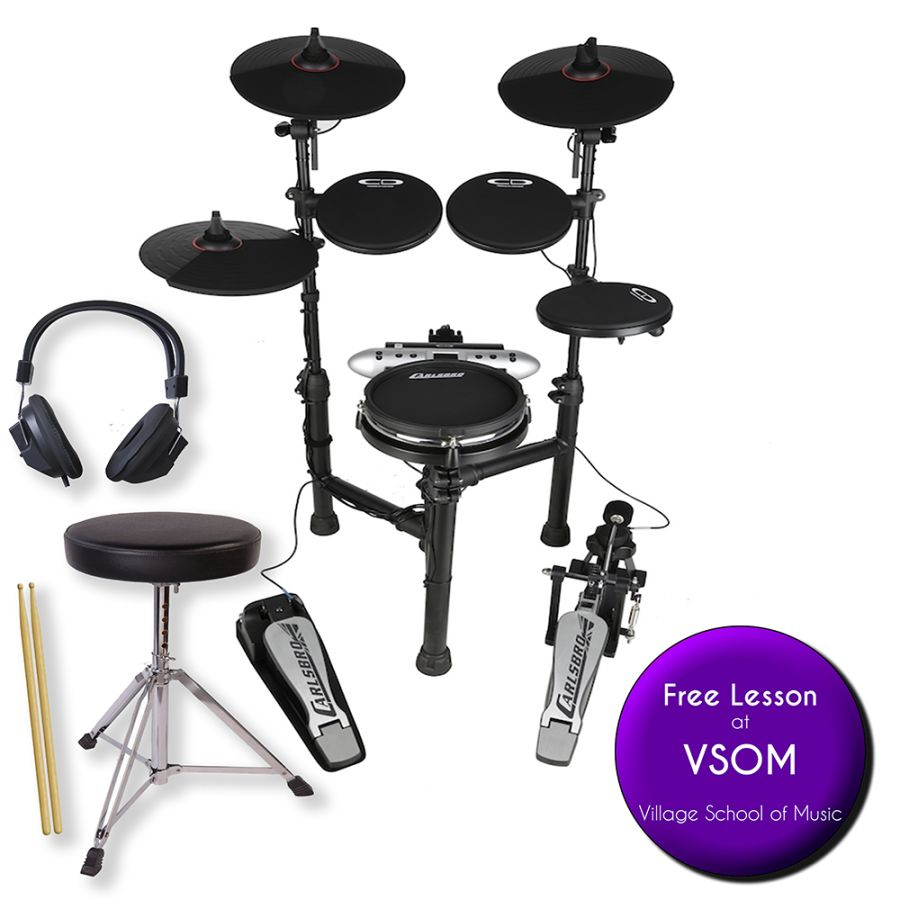 Carlsbro CDS-130M Electronic Drum Kit - With Mesh Snare