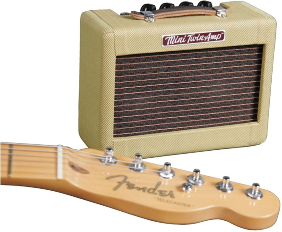 Fender Mini Twin Amp - Battery Powered Novelty Amp