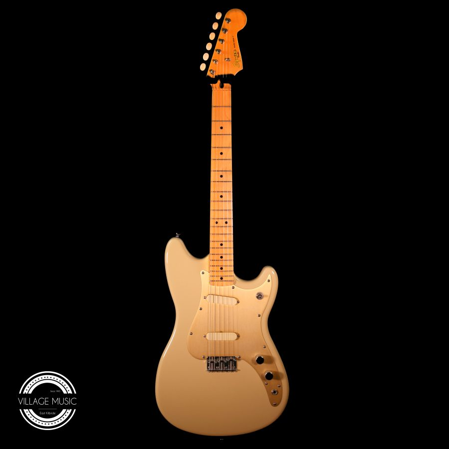SOLD - Squier Classic Vibe Duo-Sonic 50's Mustang Desert Sand