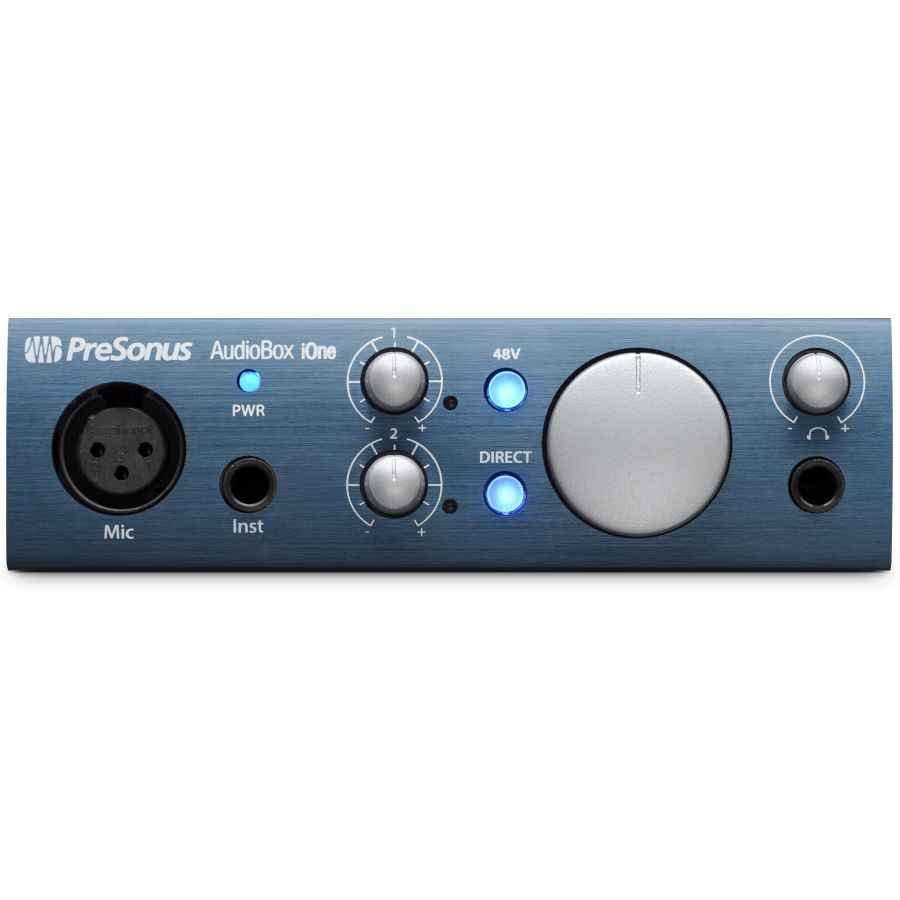 PreSonus AUDIOBOX iONE 2x2 USB/ iPad Recording System