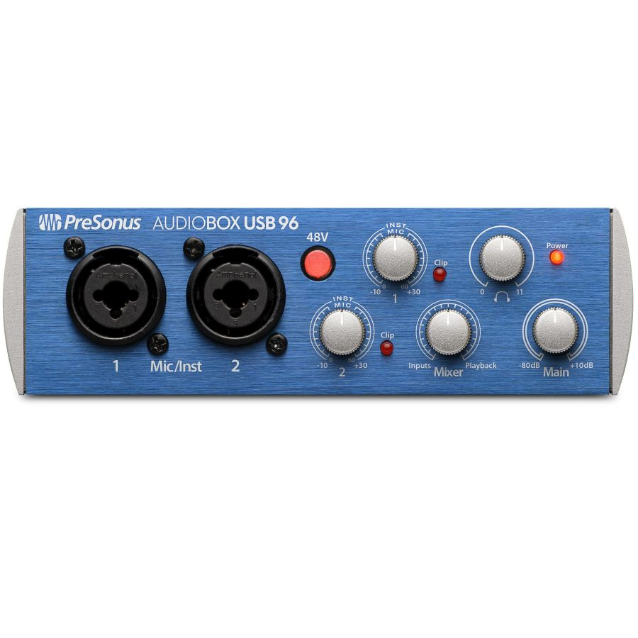 PreSonus AUDIOBOX USB 96 - 2x2 USB Audio Interface