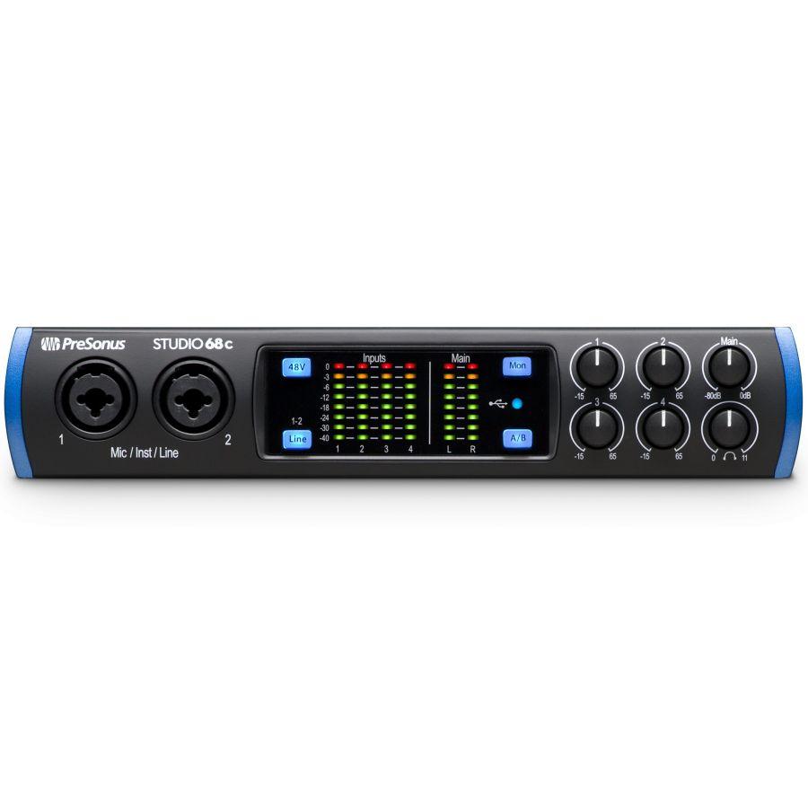 PreSonus STUDIO 68C - 6x8 USB 2.0 Audio Interface