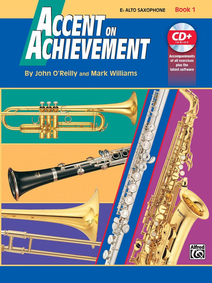 Accent on Achievement - Alto Saxophone - Book 1 + CD