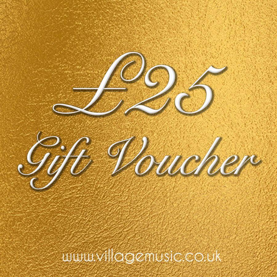 Village Music £25 Voucher
