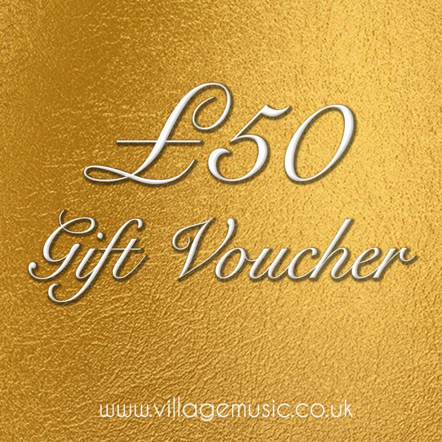 Village Music £50 Voucher