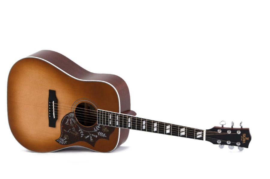 Sigma DM-SG5 Heritage Cherry Sunburst Acoustic Guitar