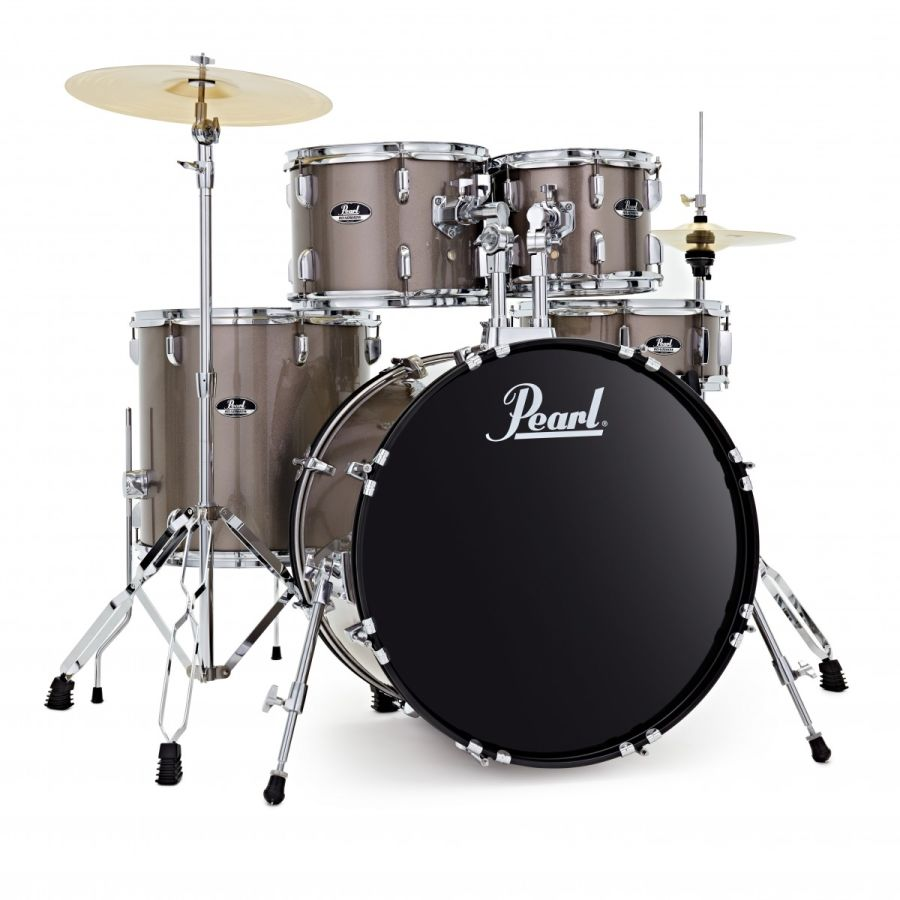 Pearl Roadshow 5pc American Fusion Drum Kit, Bronze Metallic