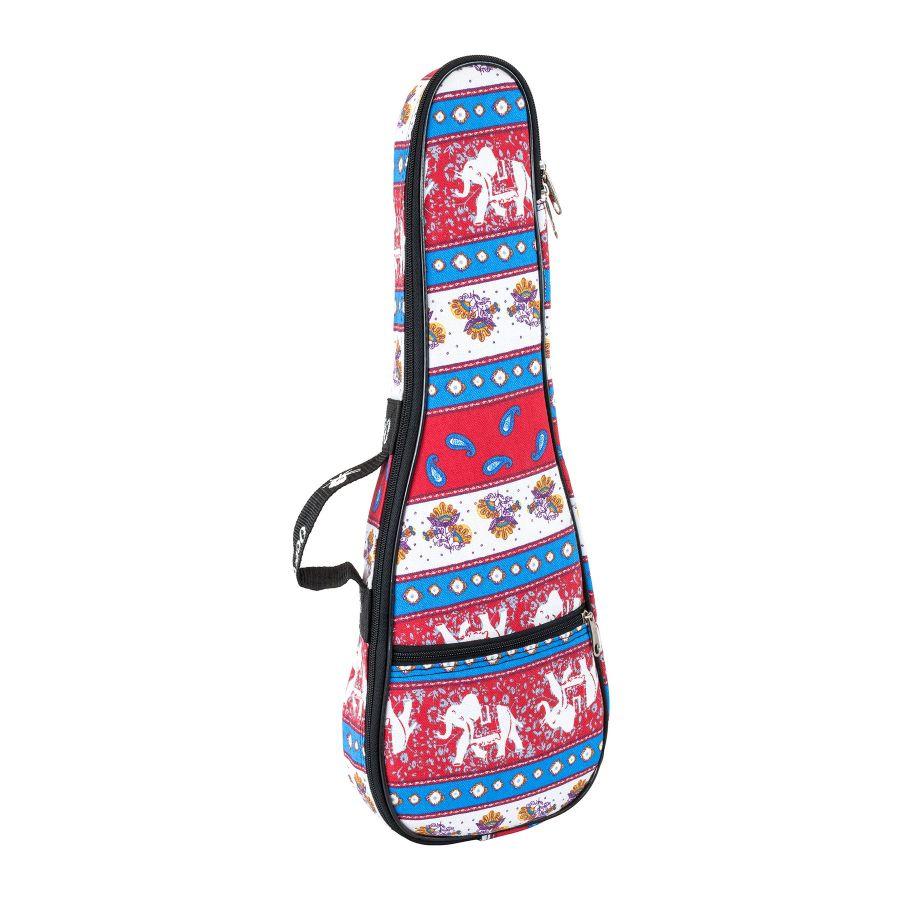 Octopus Concert Ukulele Gig Bag - Indian Textile