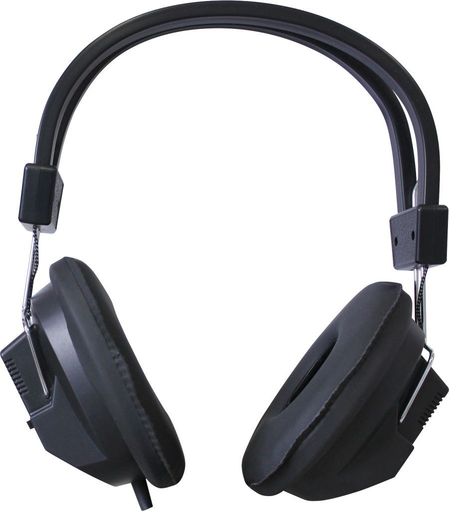 Studio Headphones with 3.5mm Jack and 1/4 inch adaptor
