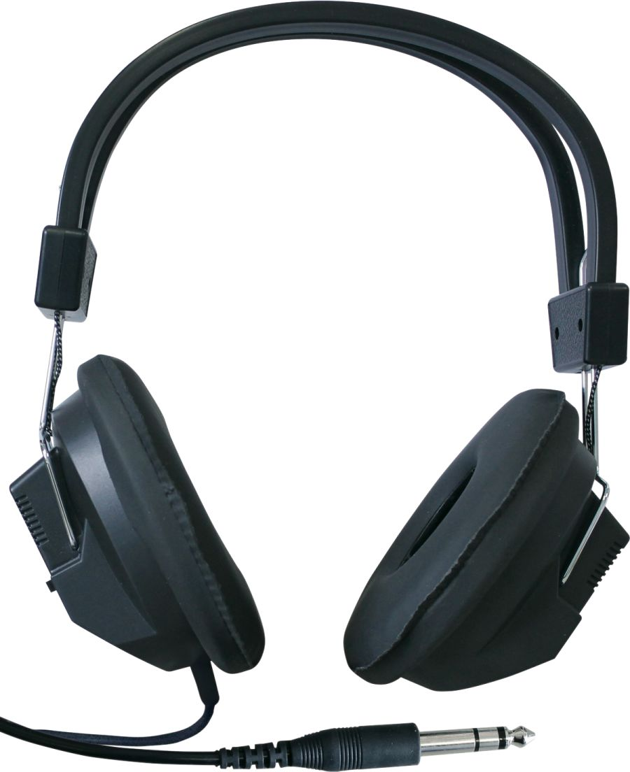 Studio Headphones - fitted with 1/4 inch Jack plug
