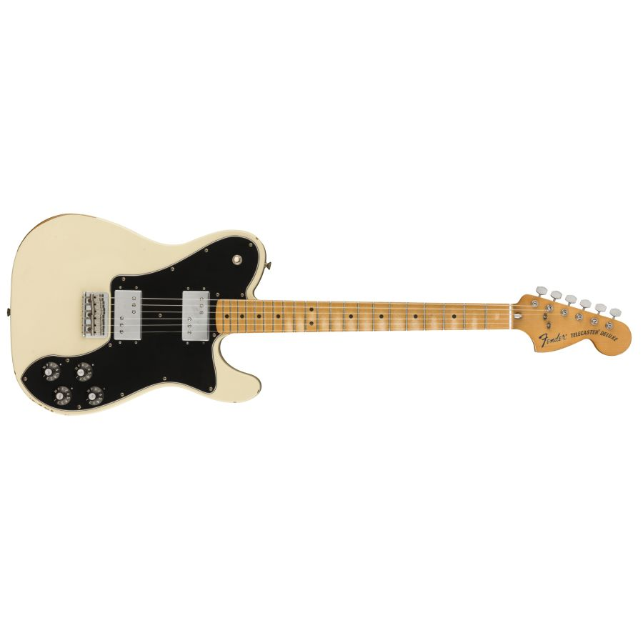 Fender Vintera Road Worn 70's Deluxe Tele - Olympic White