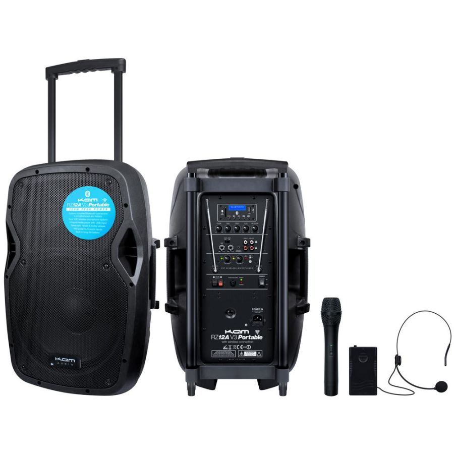 HIRE - 800W Battery Powered PA 12 inch Speaker - From Just £30 Per day