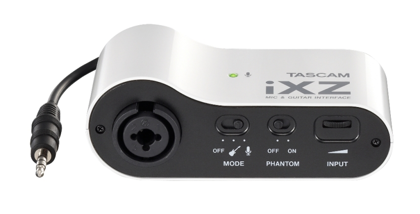 Tascam iXZ Audio Interface for iPad/iPhone/iPod Touch
