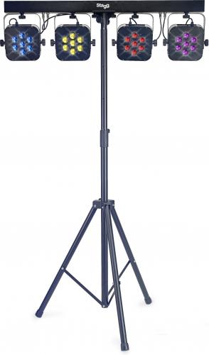 Stagg Pro Lighting - Flat Par Set 01