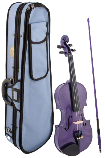 Stentor Harlequin Purple Violin