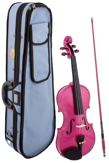 Stentor Harlequin Pink Violin