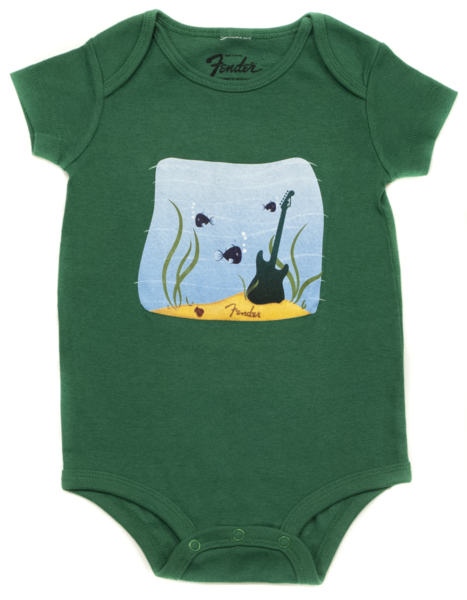 Fender Pick Fish Onesie