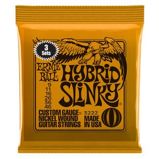 Ernie Ball Hybrid Slinky Triple Pack