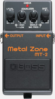 Boss MT-2 Metal Core