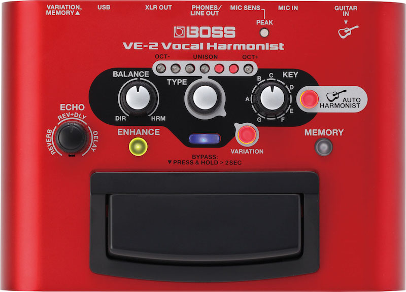Boss VE-2 - Vocal Harmonist
