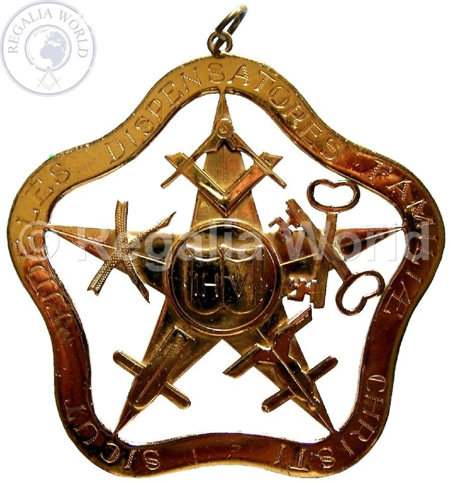 ROS Substitute Provincial Grand Master collar jewel