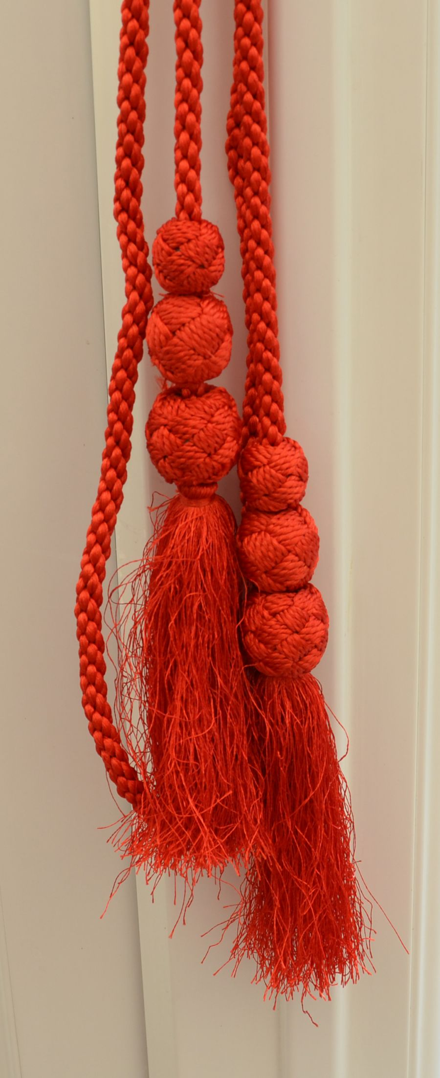Scarlet Cord Members Cord with tassels