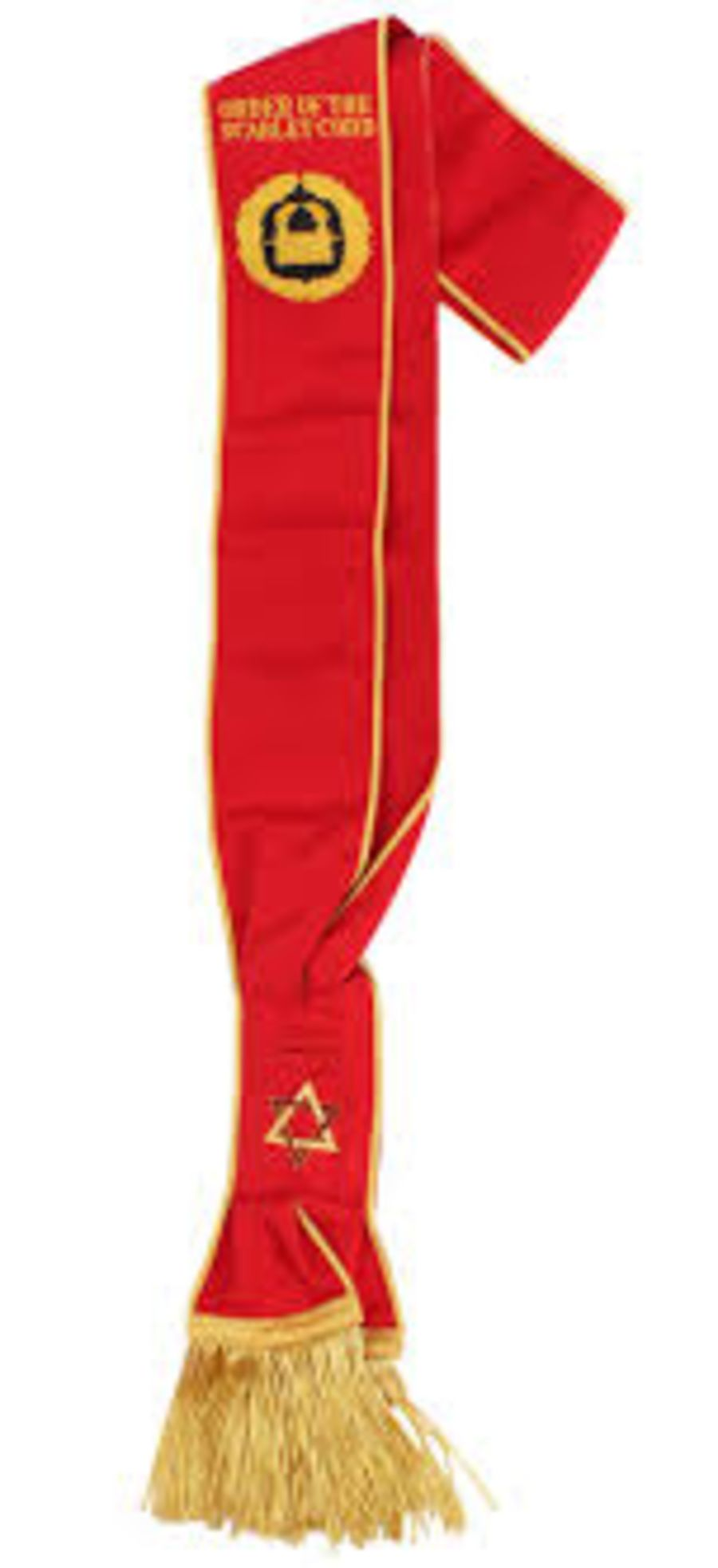 Scarlet Cord Grand Sash