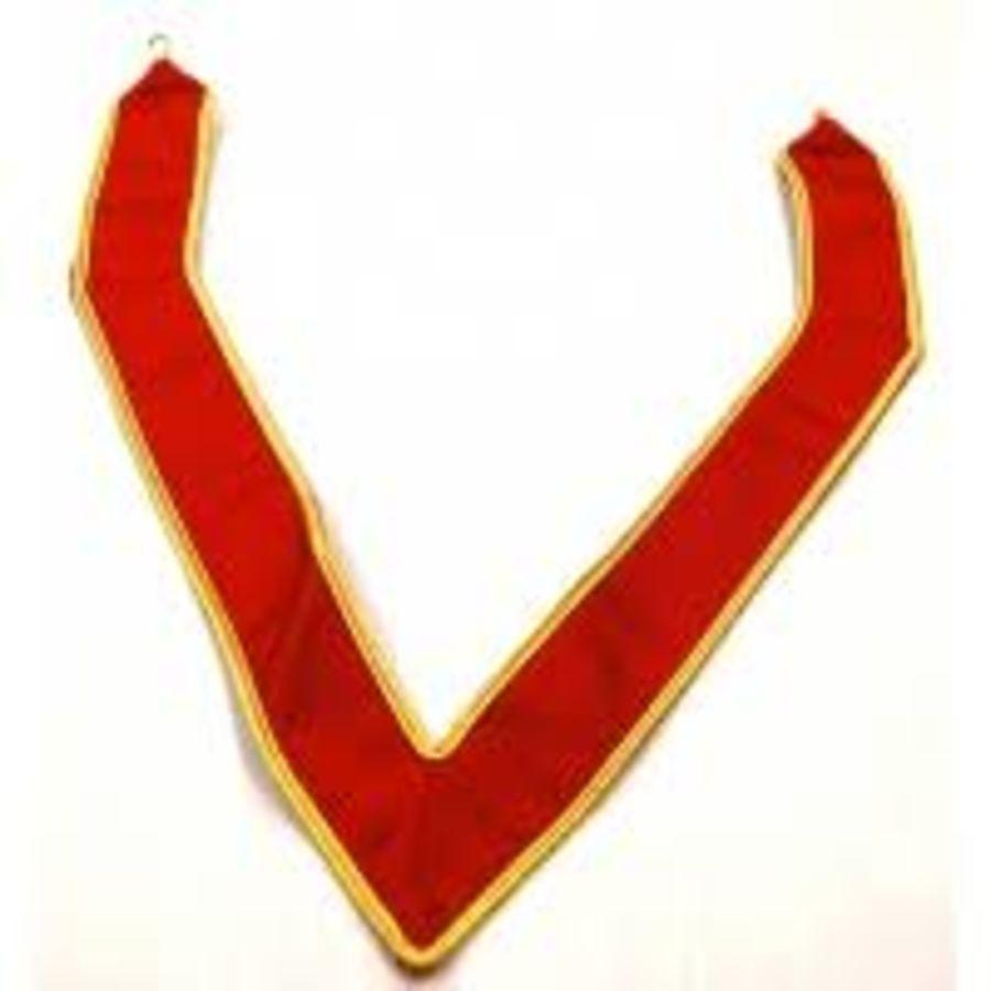 Scarlet Cord Grand Collarette