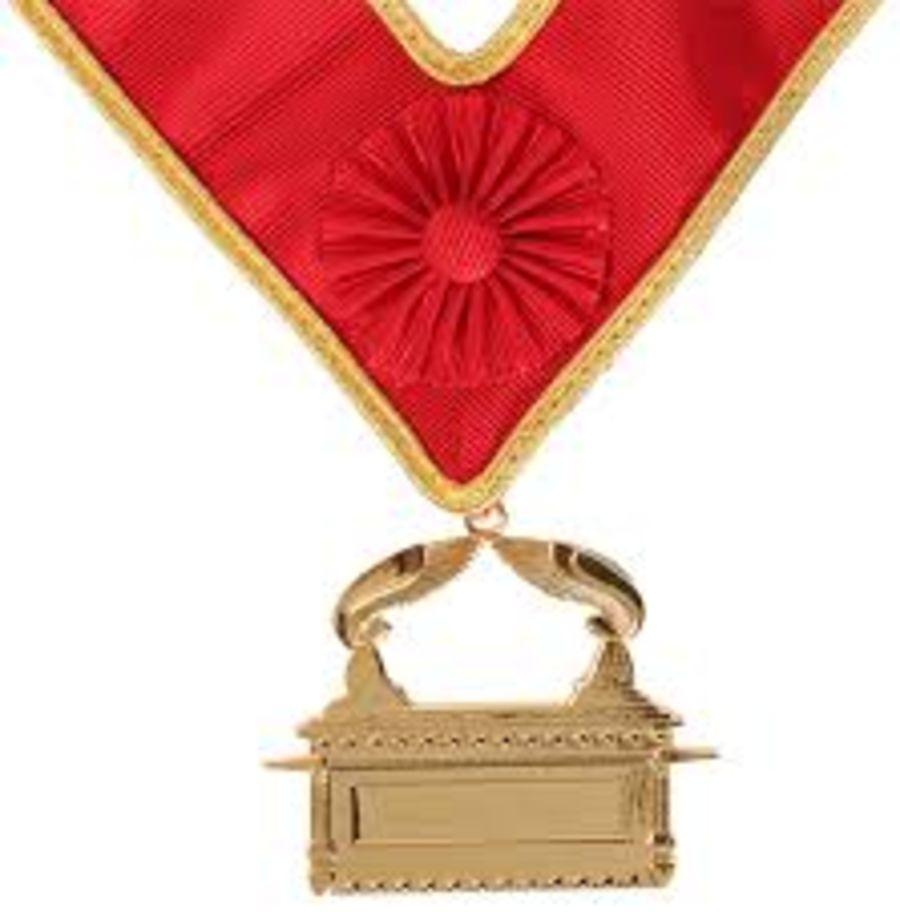 Scarlet Cord Grand Collarette Jewel