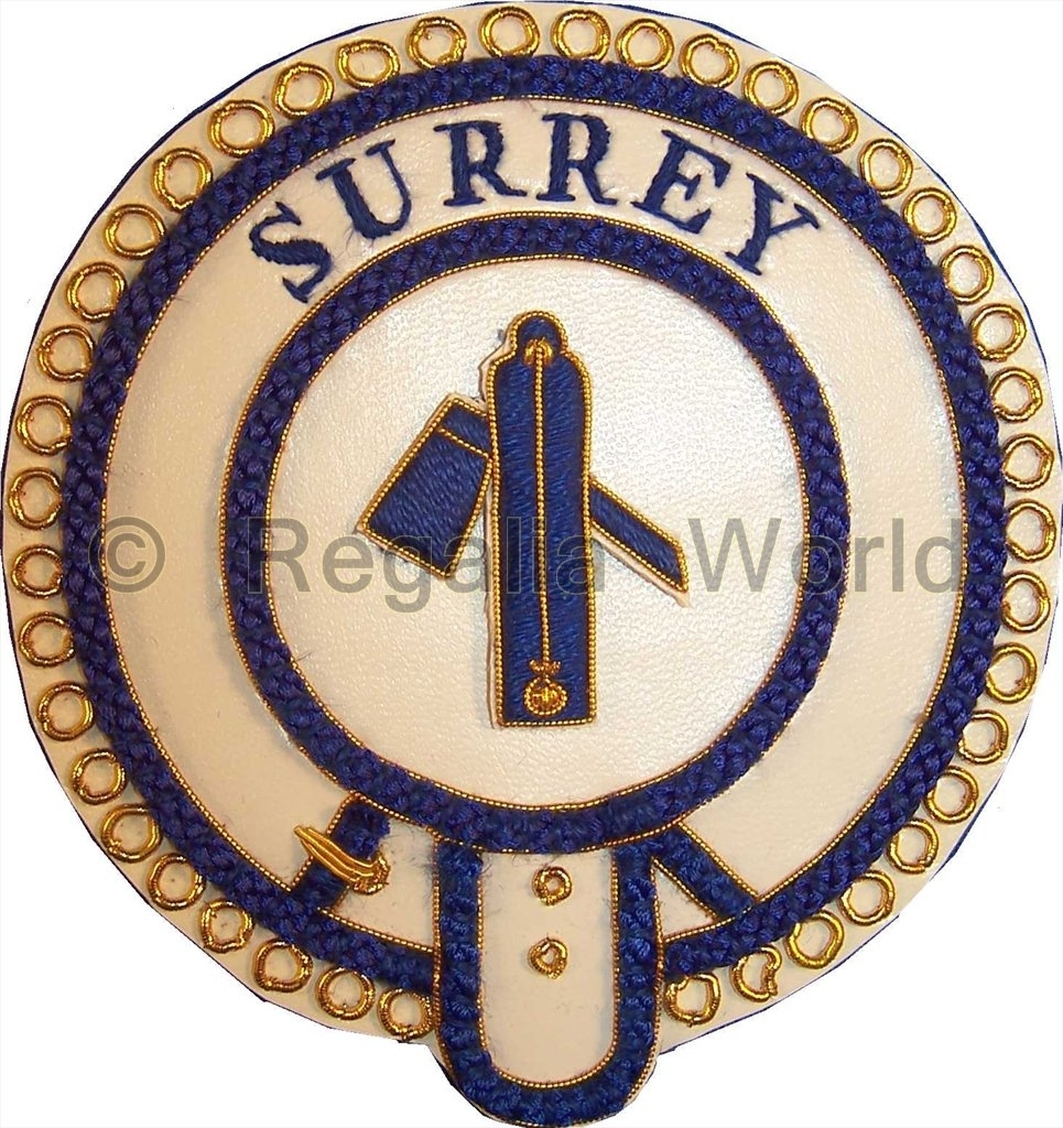 Mark Provincial Undress Apron Badge