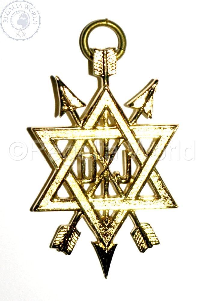 OSM Supreme and Past Supreme Ruler Jewel