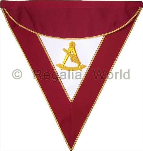 R&SM Officer/Past Master Apron