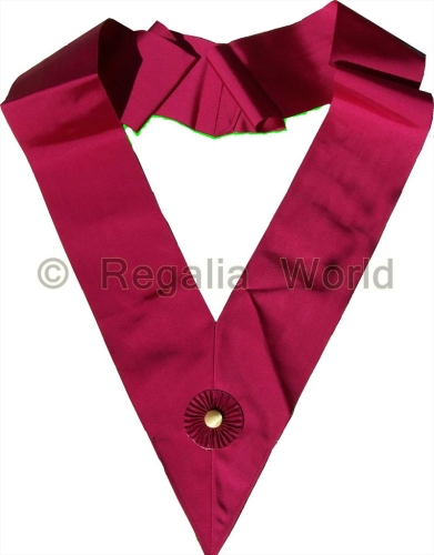 ROS Cordon Sash - Crimson