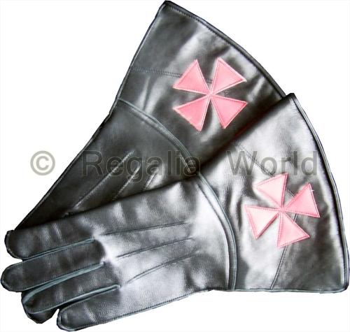 KT Kid Leather Gauntlets