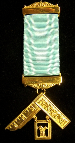 Craft Past Master Breast Jewel Two fancy bars