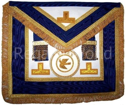 Craft Provincial Full Dress Apron - lambskin with badge