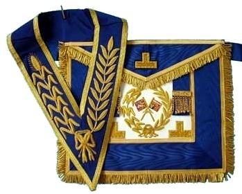 Craft Grand Rank Full Dress lambskin Apron and Collar