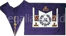 Craft Grand Rank Undress lambskin Apron and Collar