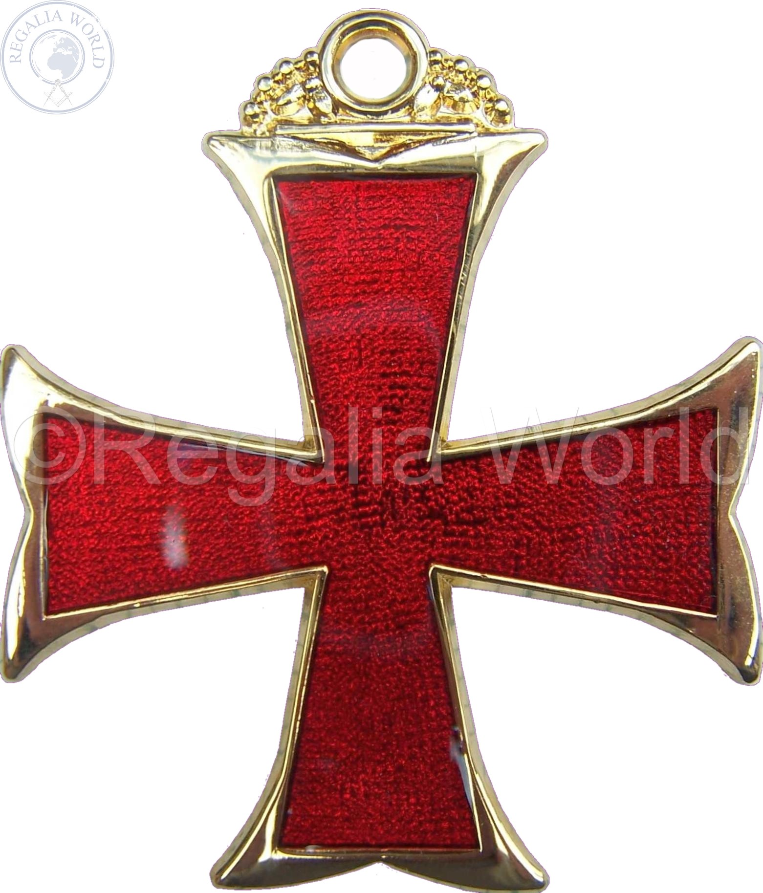 CBCS/PEC red cross jewel
