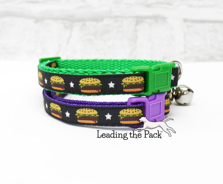 10mm burger collars & leads