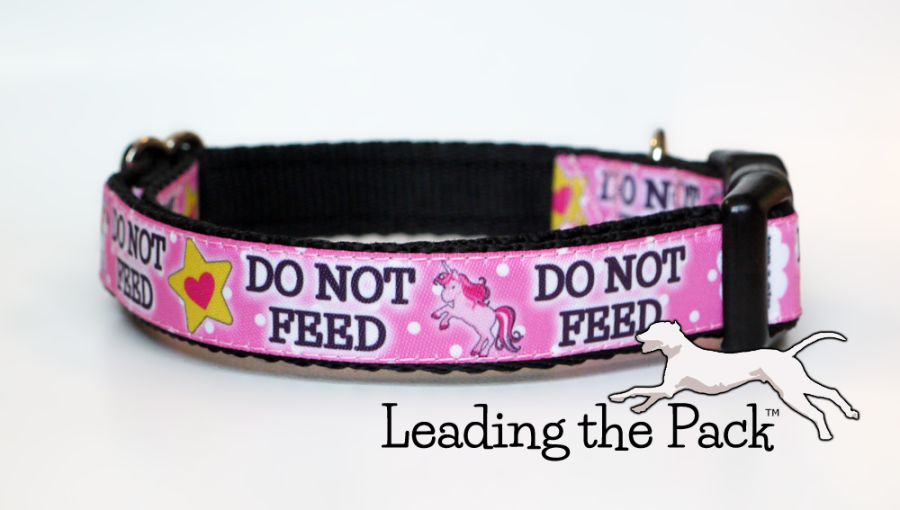 20/25mm do not feed unicorn collars & leads