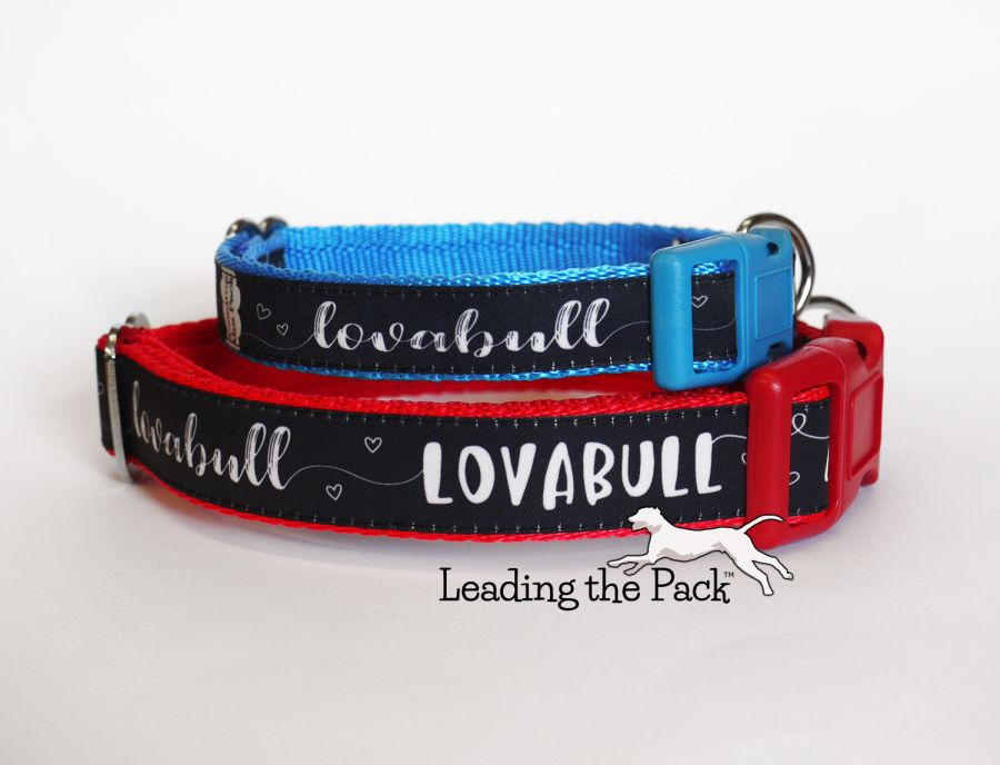 20/25mm lovabull collars & leads