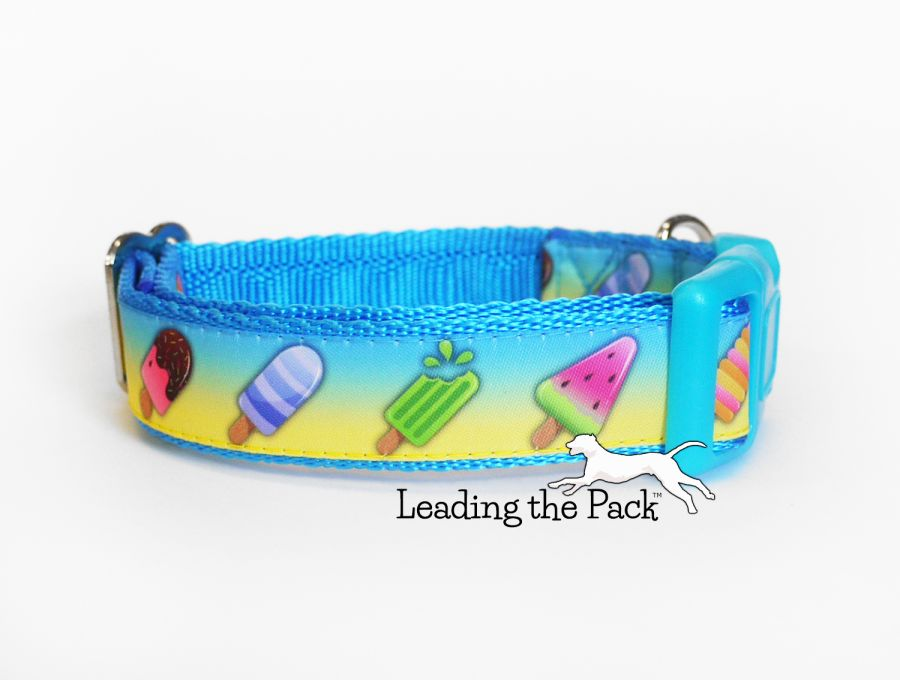 20/25mm ice lolly collars & leads