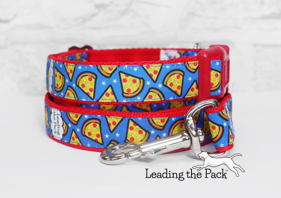 20/25mm pizza blue collars & leads