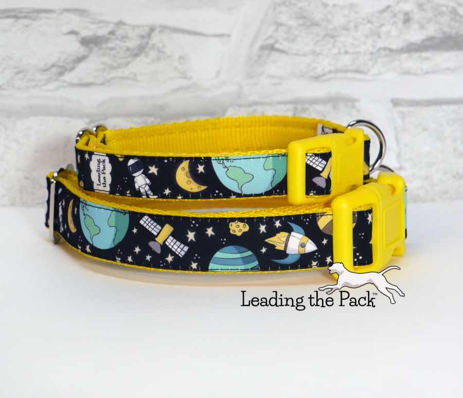 20/25mm space adventure collars & leads