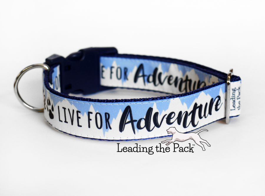 20/25mm live for adventure collars & leads