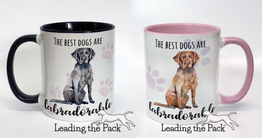 The best dogs are labradorable labrador mugs & coasters