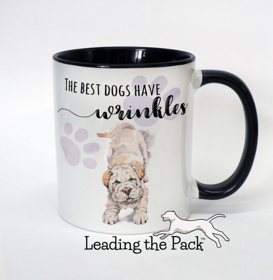 The best dogs have wrinkles sharpei mugs & coasters