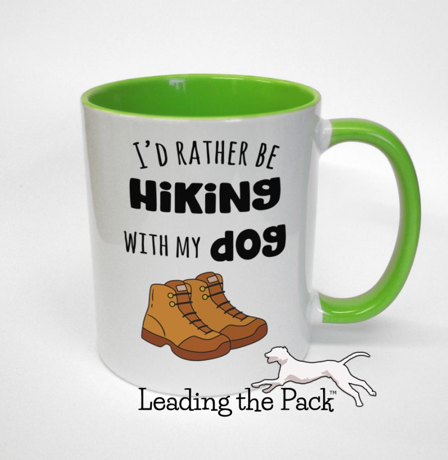 I'd rather be hiking with my dog mugs & coasters